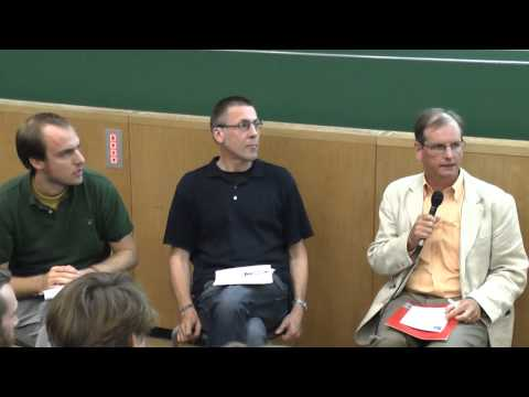Clive Spash in discussion with Niko Paech about Post-Growth - Degrowth Leipzig 2014