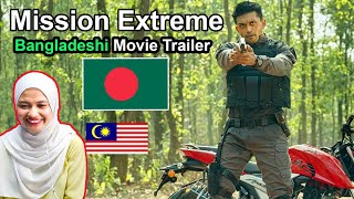 Bangla New Movie 2020 | Mission Extreme Trailer | Malay Girl Reacts