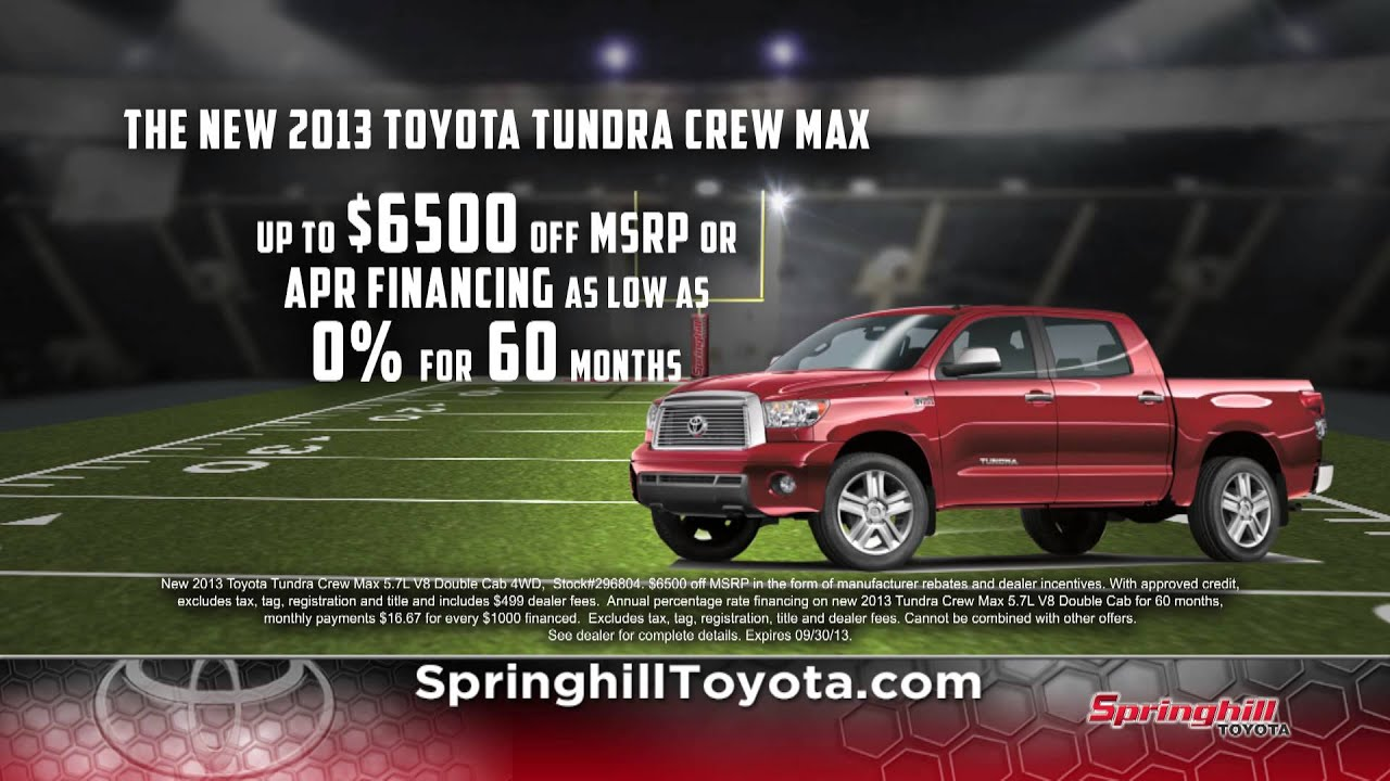 Reduced Prices At Springhill Toyota At Mobile, AL Serving Daphne And  Spanish Fort, AL