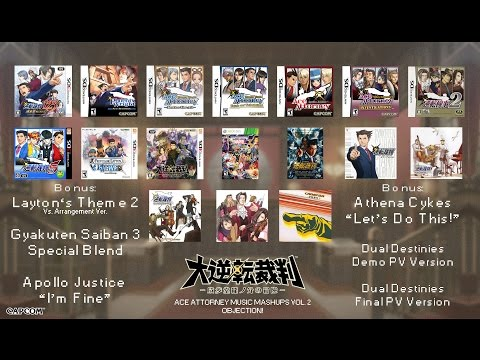 Ace Attorney Music Compilation: Objection! [Version 2] 2015 Update