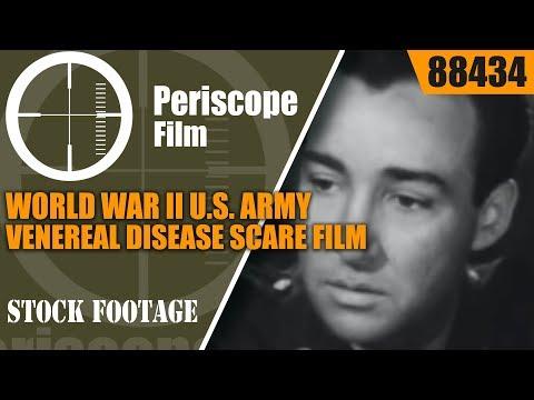 "WORLD WAR II U.S. ARMY VENEREAL DISEASE SCARE FILM ""PICK UP"" 88434"