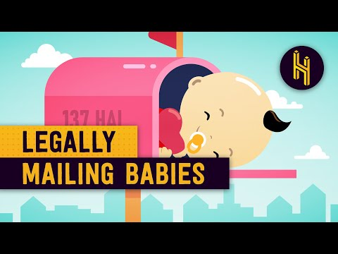 Why it Used to be Legal to Mail Babies