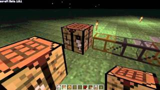 minecraft how to make a automatic crafting table with buildcraft