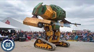 6 Increíbles Robots que debes conocer - Robots Gigantes