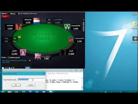 Игра бота покер 1