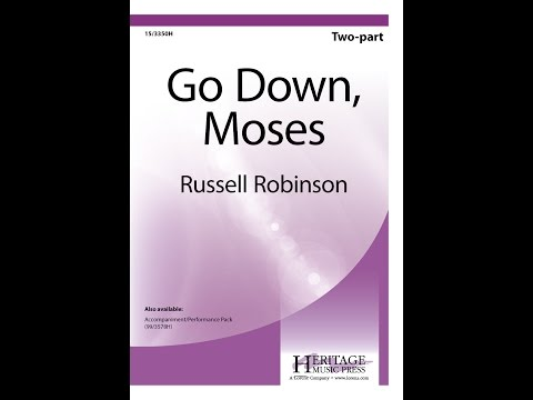 Go Down, Moses (2pt) - Russell Robinson