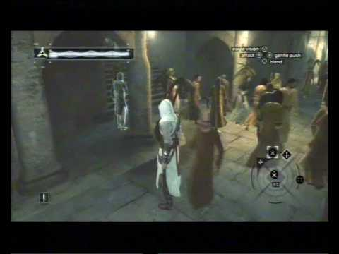 Assassin's Creed, Career 118, Jerusalem, Rich District, Informant Target (fail)