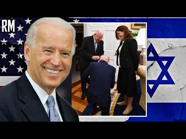 Biden Kneels Before israeli President