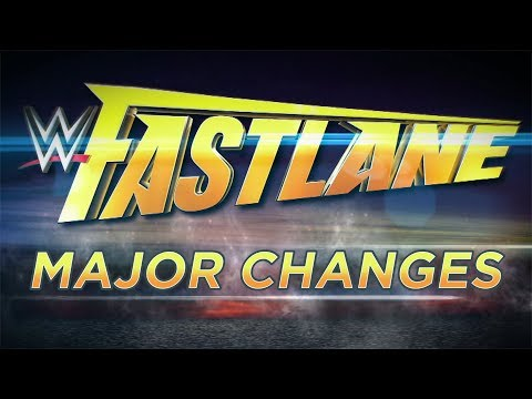 Major Changes To WWE Fastlane 2018 Main Event