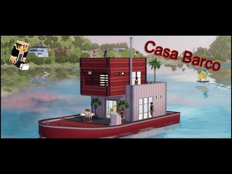 Minecraft casa barco sencilla y r pida youtube - Construcciones de casas ...