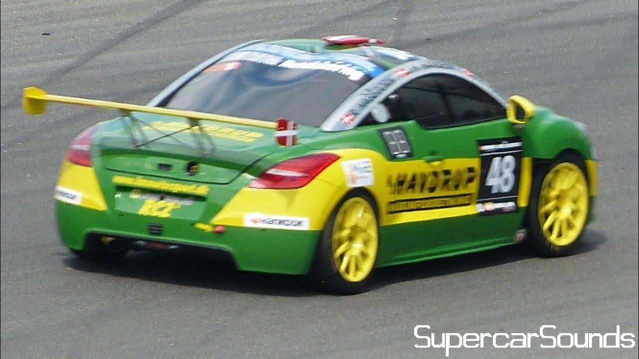 Peugeot RCZ Racecar Sounds! - YouTube