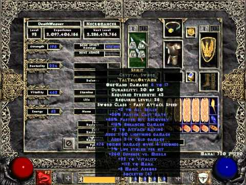 Diablo  Lod Poison Necro Build