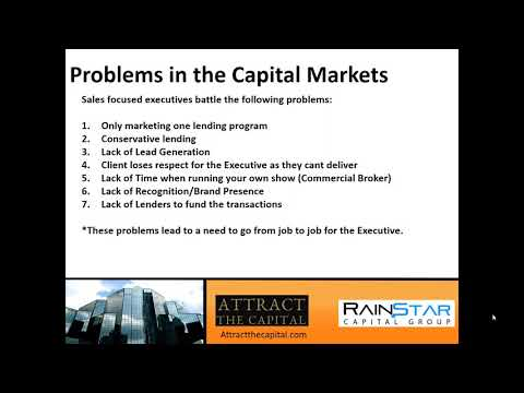 Problems in the Capital Markets