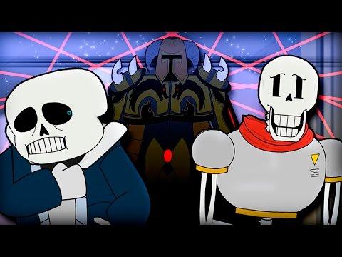 Скелеты и...Человек? (Пародия на Undertale) | Skeletons And.. A Human? (Animation) (На Русском)
