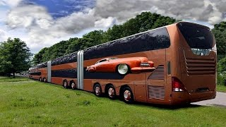 Top 10 Biggest Buses In The World 2018 you must see ever