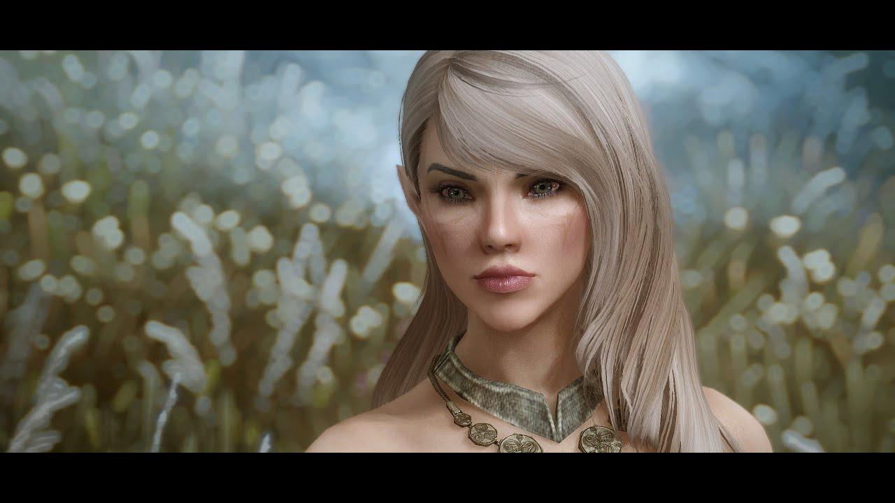 Skyrim Custom High Elf Voiced Follower Minerva - v1 2 Demonstration  (1 2/1 2a)