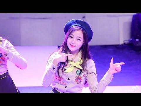 151215 에이프릴(APRIL) 진솔 - Muah! (무아!) @성북구 K-POP 축제 직캠/Fancam by -wA-