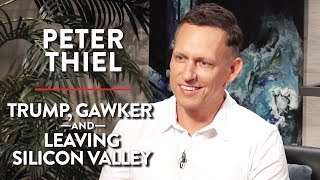 Trump, Gawker, and Leaving Silicon Valley | Peter Thiel | TECH | Rubin Report