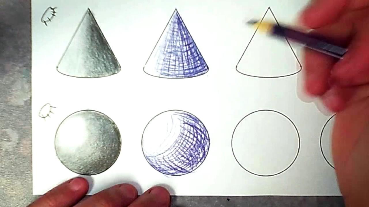 cross hatching sphere youtube