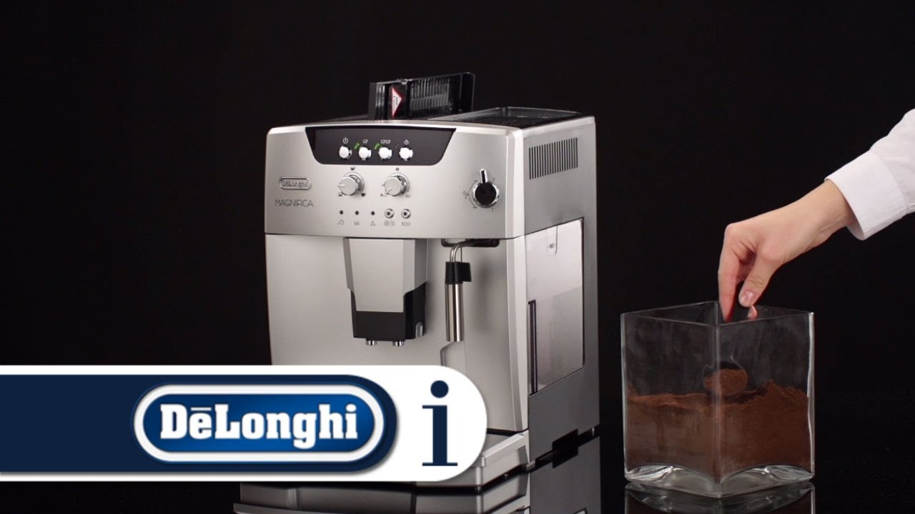 How To Make Coffee Using Pre Ground Coffee In Your Delonghi Esam