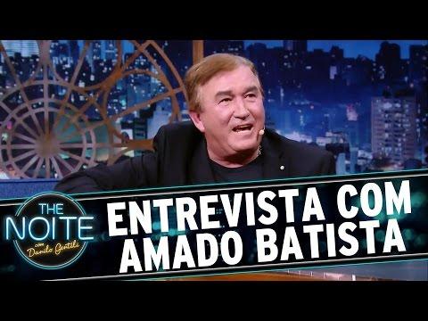 The Noite (09/06/16) - Entrevista com Amado Batista