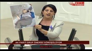 TBMM Yeni Yasama Yılı Açılışı-HDP Grup Başkanvekili İstanbul Milletvekili Pervin Buldan-1 Ekim 2015