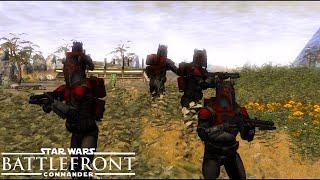 Star Wars Battlefront Commander - Deathwatch Attack! Mandalorian Land Battle