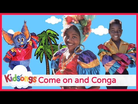 Kids Conga Song | Best Dance Songs for Kids | Come On and Conga | Best Kids Dance Songs | PBS Kids
