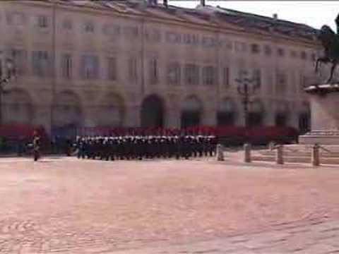 Carabinieri graduation ceremony (Giuramento) in Turin, Italy