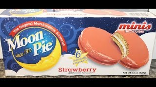 Moon Pie Minis: Strawberry Review
