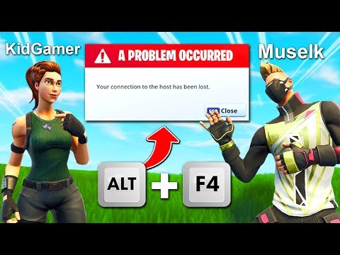 Get AIMBOT With Alt + F4 TROLL In Fortnite!