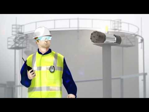 Wireless Gas Detection on Tank Farms - from Dräger