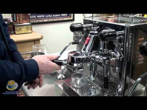 The Brasilia Mini Classic Prosumer Espresso Machine