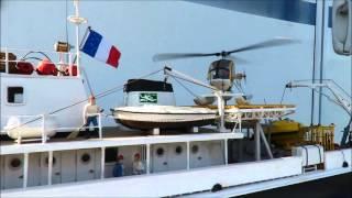 Embarcation de la Calypso
