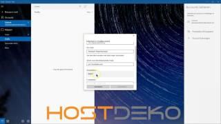 Mail instellen in Windows 10