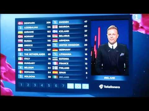 Nicky Byrne on Eurovision Song Contest Malmö 2013 (TVE)