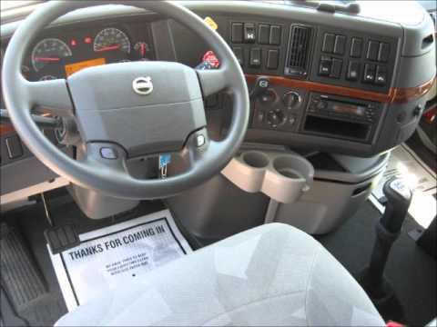 volvo truck interior 1 - YouTube