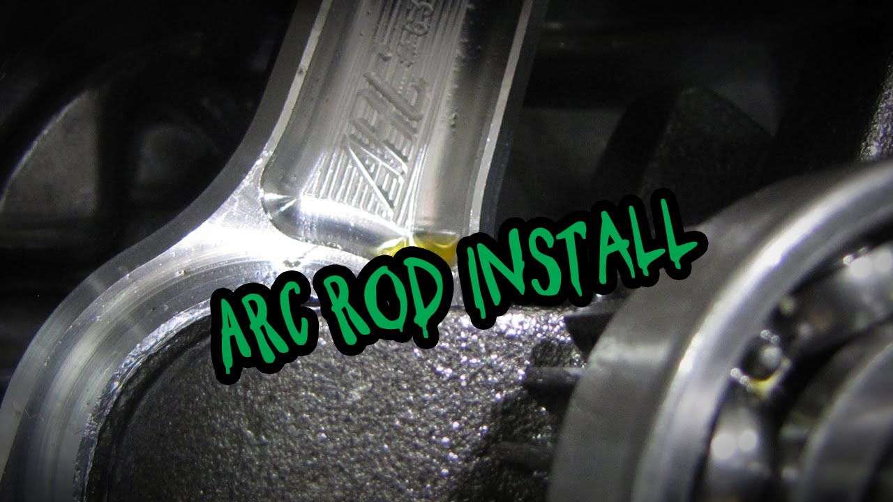 Arc Billet Connecting Rod Installation And Torque Specs