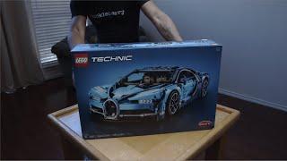 LEGO Sort and Build: Bugatti Chiron 4K