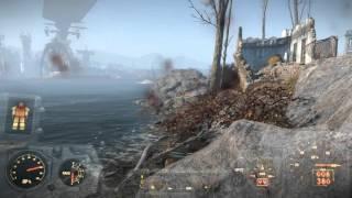 Fallout 4 Первый боевой вылет на винтокрыле