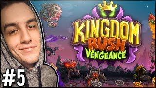 CAŁY CZAS NARZEKAM NA SWOJE WIEŻYCZKI! - Kingdom Rush Vengeance #5