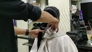 Long To Short Haircut 🤩