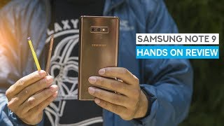 Samsung Galaxy Note 9 Hands on Review: A beast with a stylus
