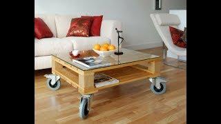 Euro ahşap palet mobilya tasarımları