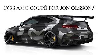 C63s AMG COUPÉ for Jon Olsson!