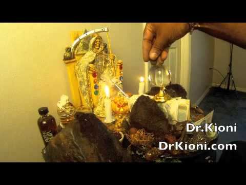 How to Work A Money Altar With Santa Muerte