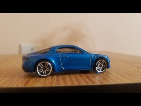 UNBOXING ALPINE A110 FACTORY FRESH 6/10 NEW FOR 2019 HOT WHEELS