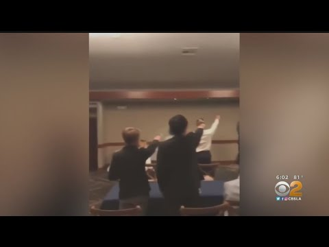 Video Shows Garden Grove Students Doing Nazi Salute, Chant
