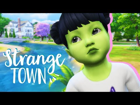 BIRTHDAY PARTY! | The Sims 4: Strange Town #7 | (NEW PARENTHOOD LP)