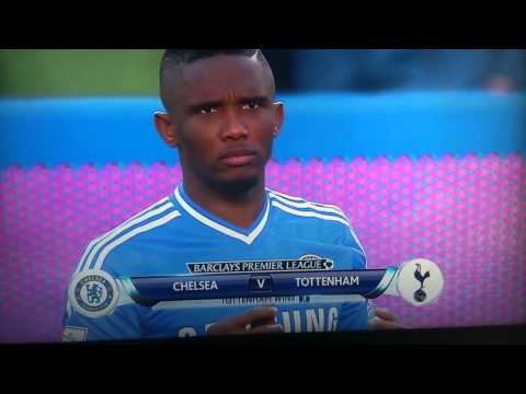 Eto'o sniffing drugs before game